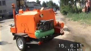 Дорожные машины(Машина для ремонта и содержания автодорог РД-927. Самоходный заливщик швов и трещин в асфальтобетонных и..., 2011-11-13T08:08:25.000Z)