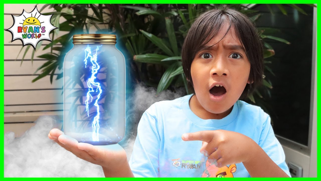 Download How to Make Lightning In a Bottle DIY Science Experiments for kids!