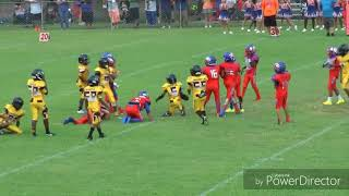 Youth football rivalry game