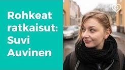 """Suvi Auvinen: """"Yrittäjänä parasta on, että voi maksaa muille palkkaa""""⎪Rohkeat ratkaisut⎪Duunitori"""