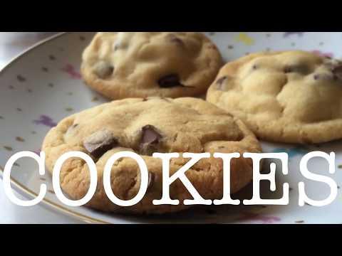 Soft & Chewy Choc Chip Cookies | Sweet Caroline Baking