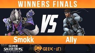 Geek-IT Ultimate - Smokk (Wolf, Ganon) vs Ally (Snake, Mario) - Winners Finals