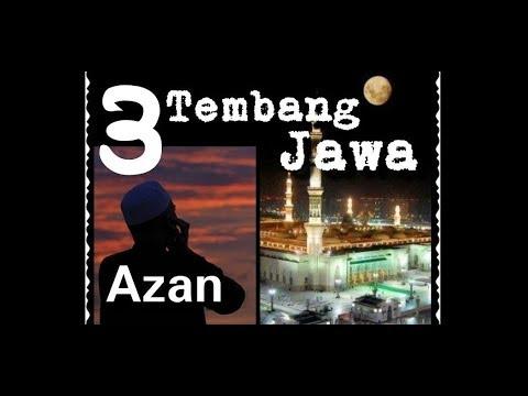 2# Azan Nada Jawa Masjid Agung Yogyakarta - Tembang Lagu pelog untuk Belajar Azan Khas Nusantara