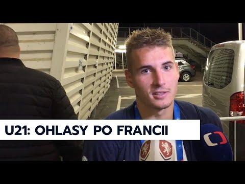 U21 | Karel Krejčí a Michal Sadílek po zápase s Francií