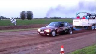 Carpulling Snelrewaard 2011 Chain Reaction finale autotrek