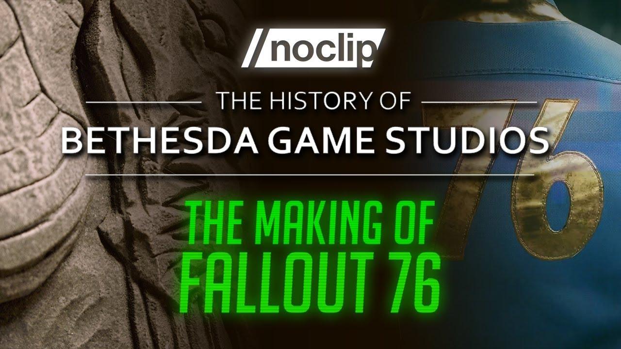 Download The Making of Fallout 76 / History of Bethesda Game Studios Trailer