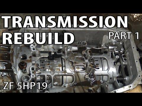 E46 ZF 5HP19 Transmission Rebuild Part 1 BMW 330i 325i