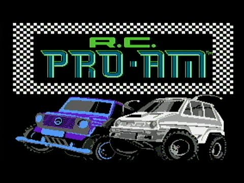 R C Pro Am Nes Gameplay Youtube
