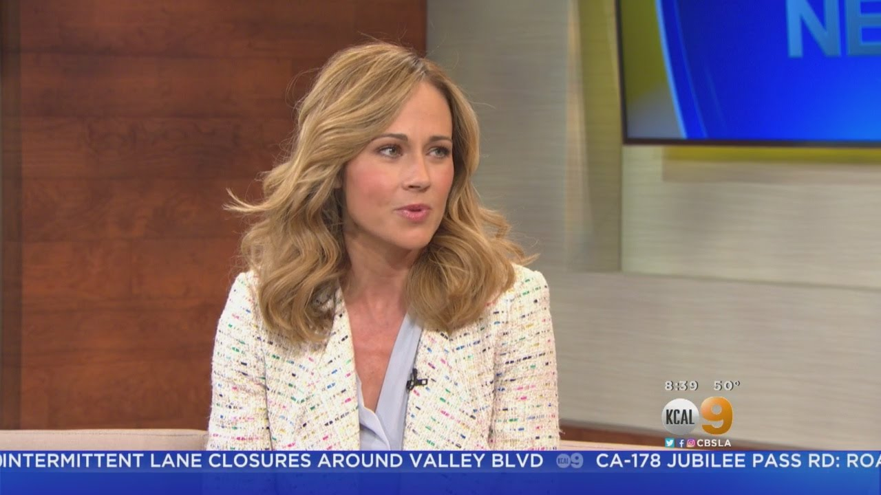 A Dream Of Christmas.Actress Nikki Deloach Appears On Kcal9 Ahead Of Premiere Of A Dream Of Christmas