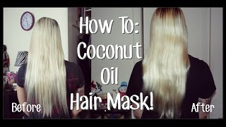 How To: Coconut Oil Hair Mask Tutorial!(WATCH IN HD 720p!!!!!!! Want More BreeAnnBarbie? **OPEN ME** WATCH BEFORE YOU ASK QUESTIONS, PLEASE! ❤WAYS TO KEEP UP WITH ME!, 2014-12-04T17:00:16.000Z)