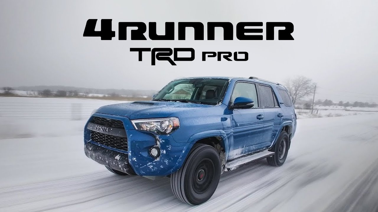 2018 Toyota 4runner Trd Pro Review Suv Done Right Youtube
