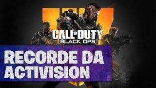 Tempo de RED DEAD REDEMPTION 2 e BLACK OPS 4 bate recorde no Xbox One