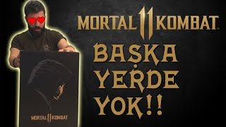 TÜRKİYE'DE İLK VE TEK | Mortal Kombat 11 Kolleksiyon Kutu Açılışı