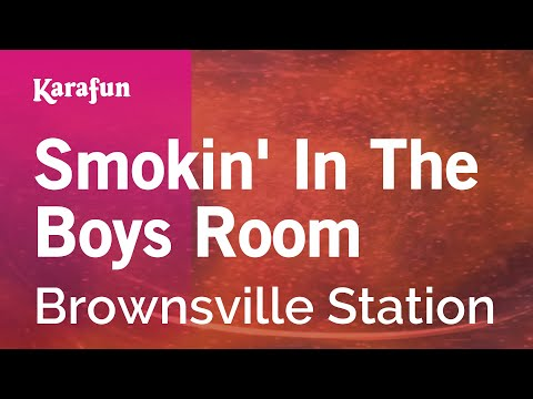 Karaoke Smokin' In The Boys Room - Brownsville Station *