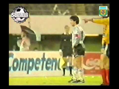 Argentina 3 vs Ecuador 0 Copa America 1987  Maradona´s Show FUTBOL RETRO TV