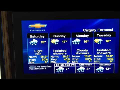 The Weather Network, Calgary, AB 5/24/13
