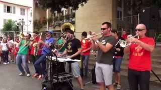 Get7 Brass Band - Get Out Da Away - @ Bar du Palais (Dax) 08/2014