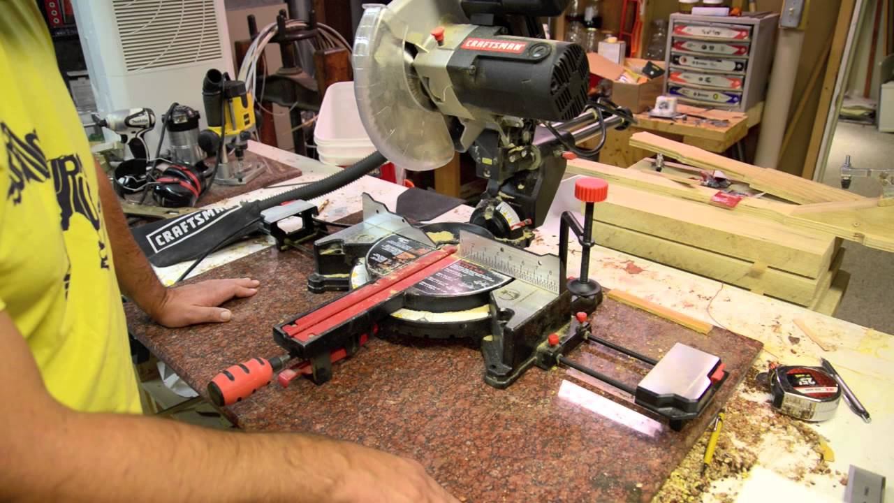 craftsman sliding miter saw. luthier tool review: craftsman 10\ sliding miter saw