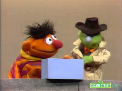 Classic Sesame Street Lefty Sells Ernie A Empty Box
