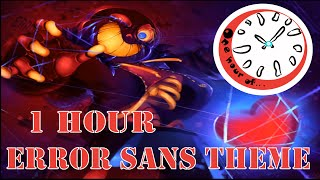 ERRORLOVANIA- Error Sans Theme  1 hour | One Hour of...
