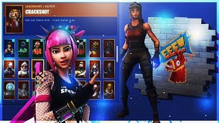 EXPENSIVE FORTNITE LOCKER SKIN COLLECTION - RAREST SKINS IN THE GAME