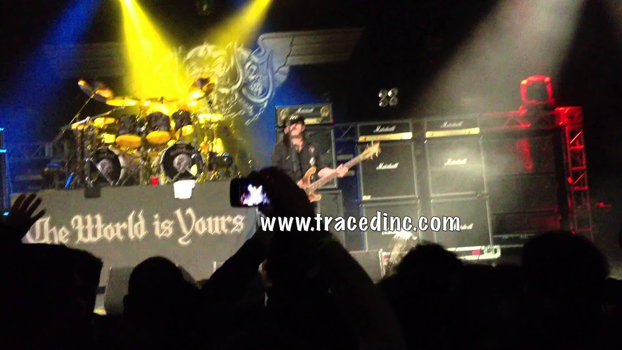 motorhead ace of spades theater at madison square garden megadeth