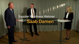 homepage tile video photo for Saab Damen continues to move ahead