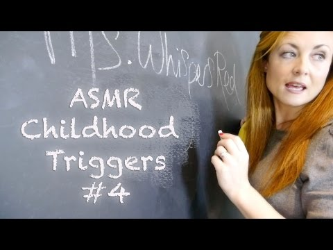 ((❥Childhood ASMR Triggers - #4 Classroom Tingles✓)) Binaural Sounds Teacher RP