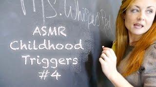 ((❥Childhood ASMR Triggers - #4 Classroom Tingles✓)) Binaural Sounds Teacher RP