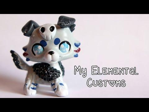 My Elemental LPS Customs (original characters)