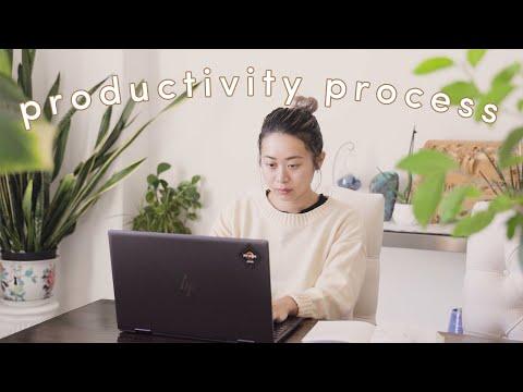 Productivity Tips: How I Plan & Organize My Life 🤓