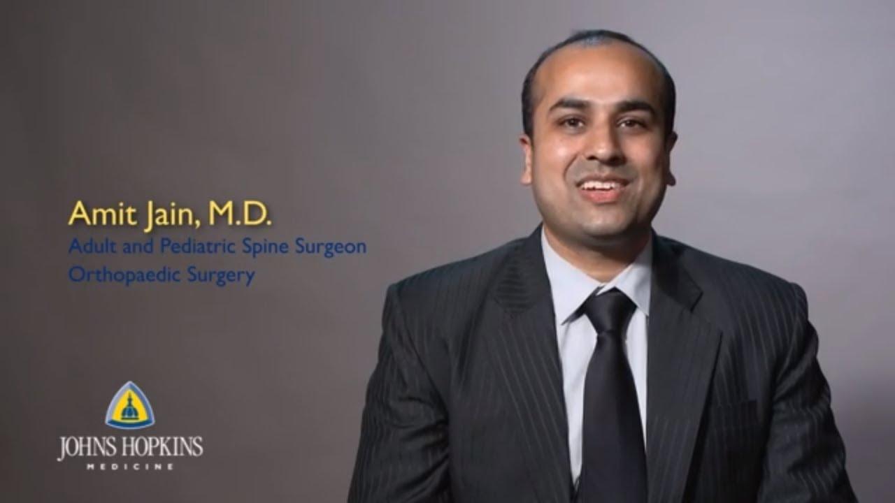 Amit Jain, MD | Johns Hopkins Orthopaedic Spine Surgeon