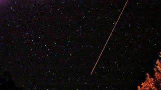 Sternschnuppen Nacht Perseiden HD