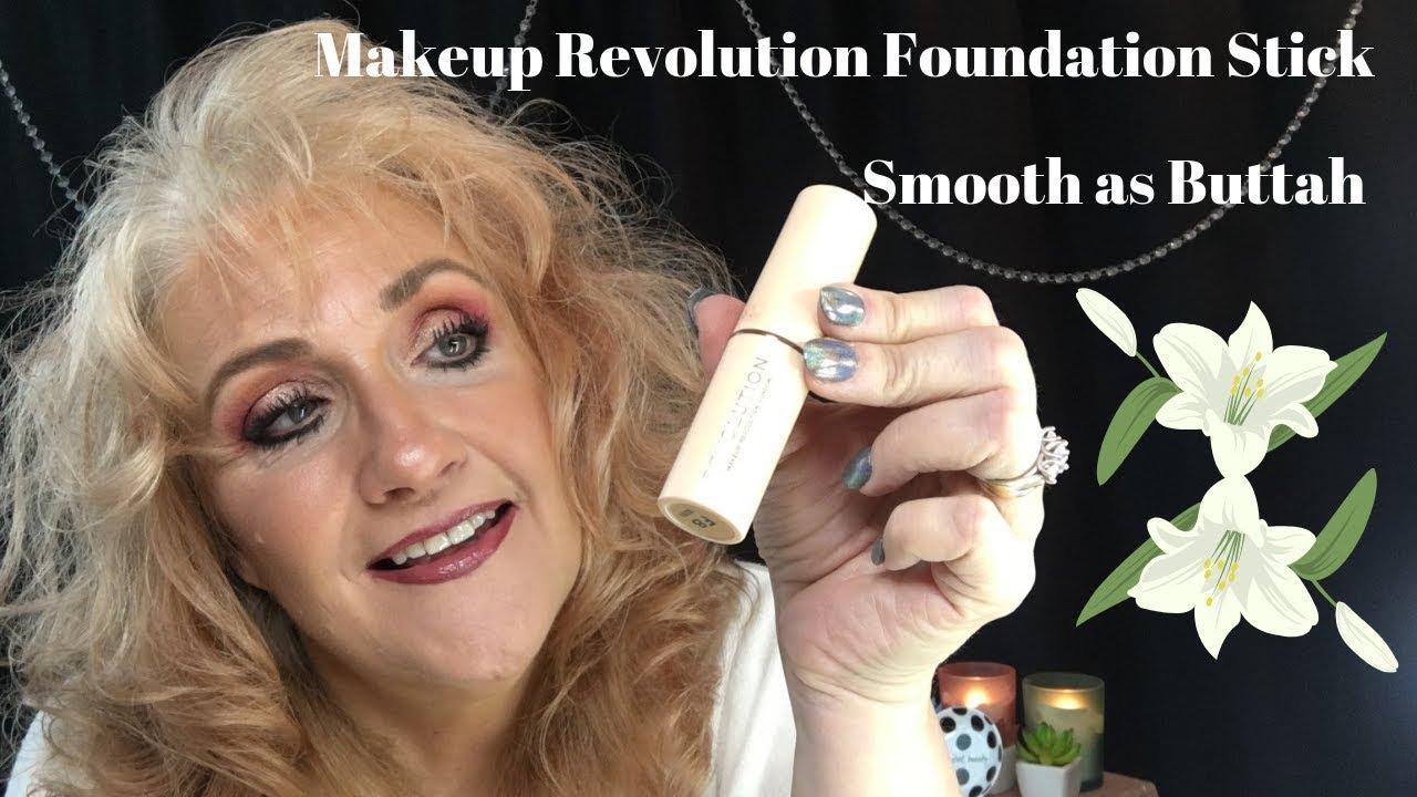 Makeup Revolution Stick Foundation Mature Women Over 50 Youtube