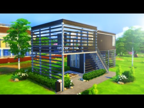 MODERN ELEVATED FAMILY HOME  [ The Sims 4 Building ]