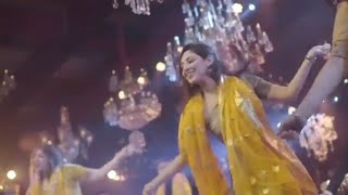 Ecstatic Sangeet Dance by Bride and Her Squad | Happy Dancing Feet