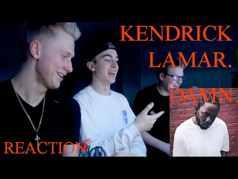 Kendrick Lamar - DAMN. (REACTION & REVEIW)