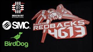 Barker Redbacks FRC Team 4613 - Robot Reveal 2019