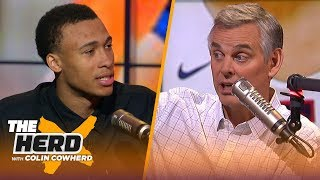 Download RJ Hampton explains his choice to skip college, who inspired him & his preparation | NBA | THE HERD Mp3 and Videos