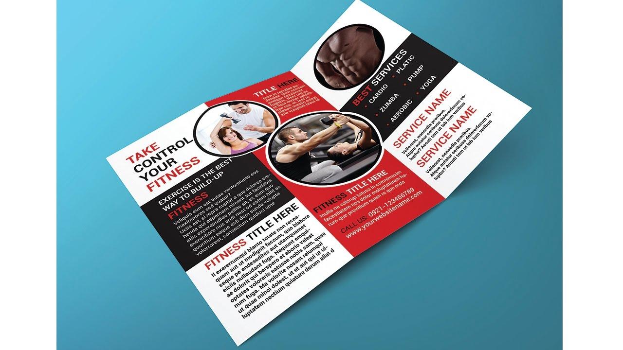 How to Create a brochure mockup in Adobe shop