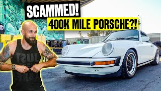 Vin Got SCAMMED. 402,000 Mile Porsche 911 Hot Rod Build!