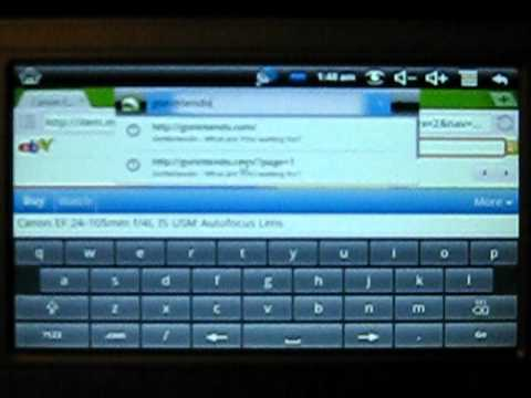 Android 2.2 On Sylvania Synet7wid 7