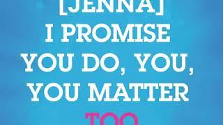 'You Matter To Me' - Instrumental Lyric Video | Waitress Musical