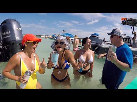 Sandbar water fun