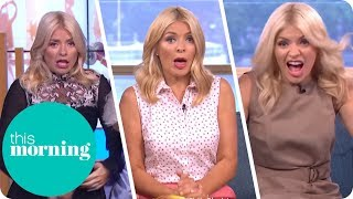 Holly Gets a Fright! | This Morning