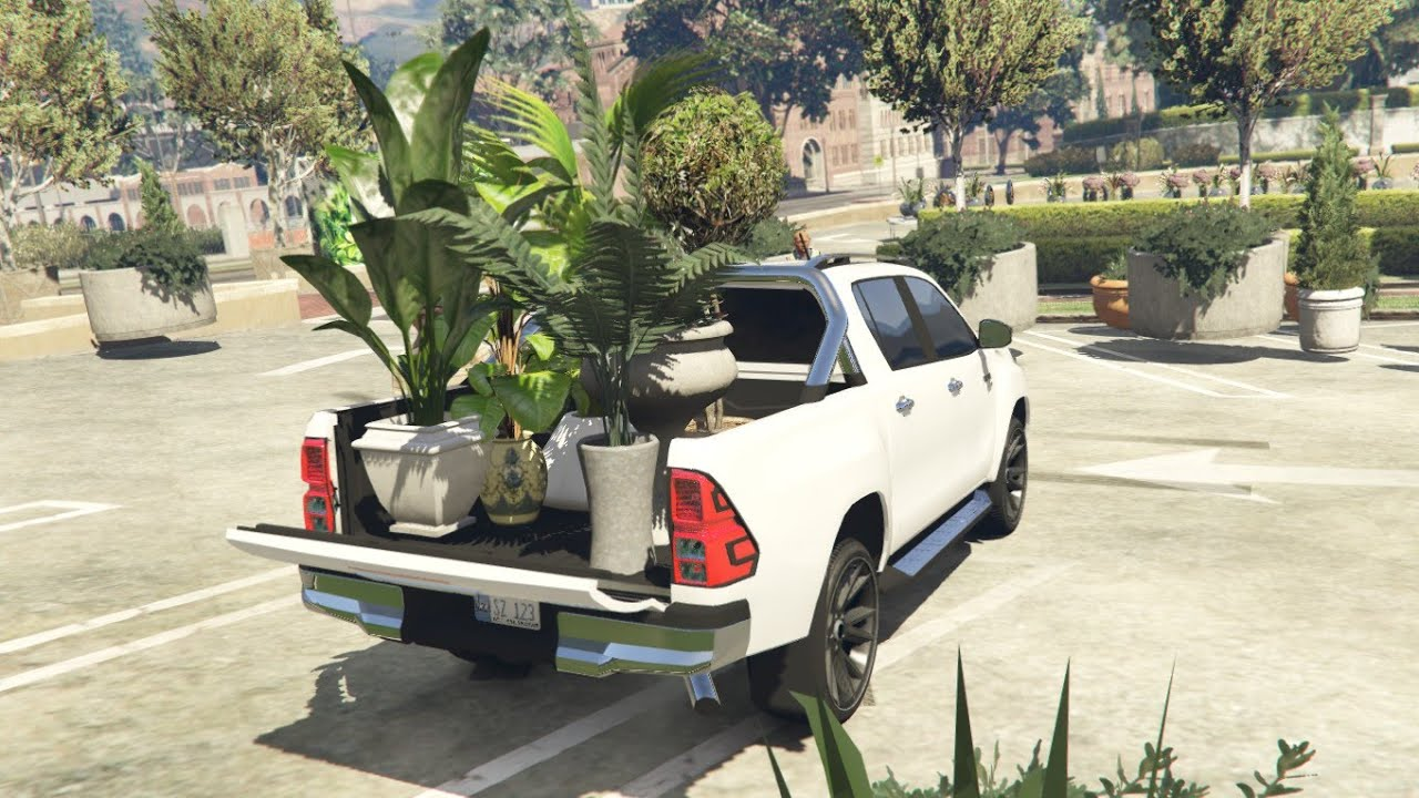 #62 | Buying Plants For Micheal's House | Gta 5 Pakistan Gameplay | Flowers | Toyota Revo | Garden