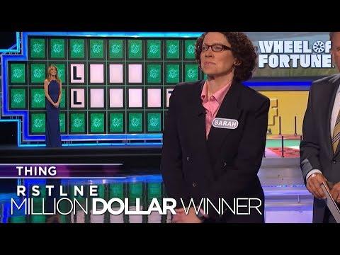 Wheel of Fortune's Third Million Dollar Winner!