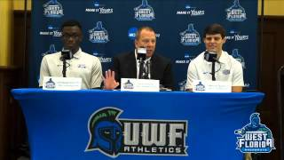 2015 UWF Winter Sports Media Day: Men's Basketball