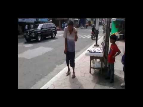 GANGNAM STYLE on Calapan City street side (Dec. 25)