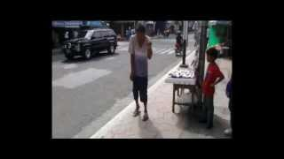 GANGNAM STYLE on Calapan City street side (Dec. 25)